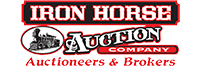 Iron Horse Auction Company Logo